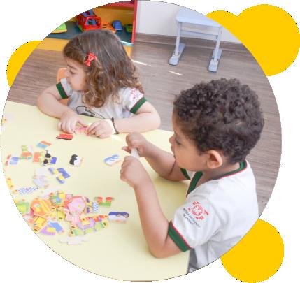 Educação Infantil no Colégio Sapiência em Taboão da Serra
